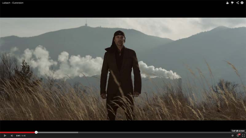 laibach eurovision video clip