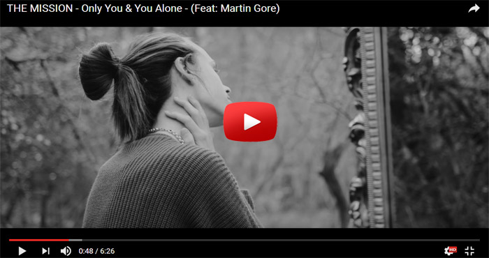 the mission martin gore depeche mode only you alone video clip