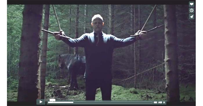 wardruna raido video clip